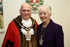 Photo of Borough Mayor and consort