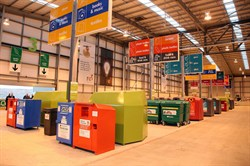 Photo of the Smallmead Household Waste Recycling Centre