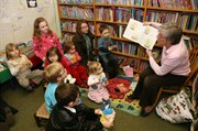 Photo of children enjoying Rhymetime